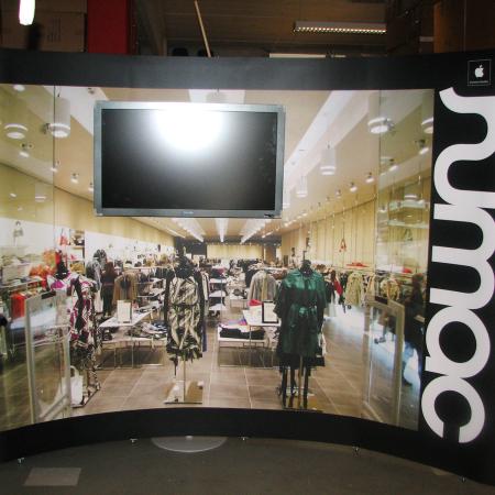 X-display Pop-up udstillingssystem