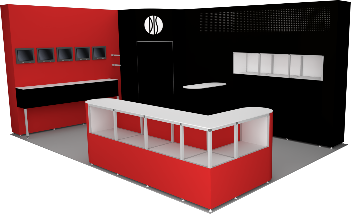 3D_dis_messestand